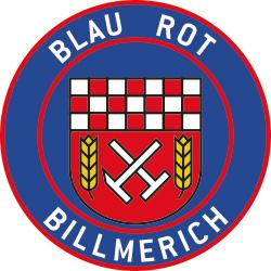 Blau-Rot-Billmerich 1912 Logo