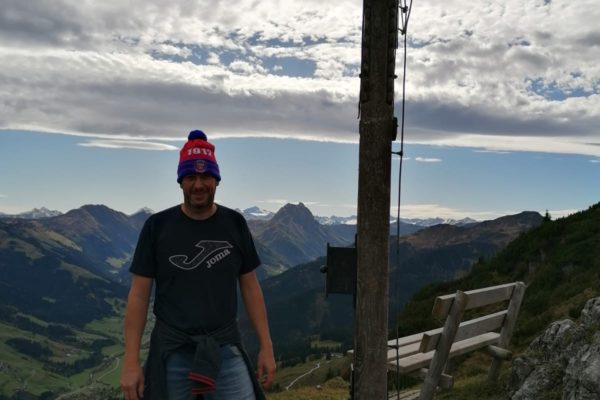 Keule auf dem Gaisberg in Tirol