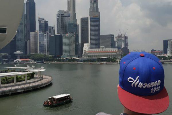 Felix (V-Mann) in Singapur