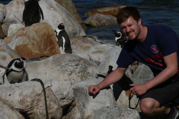 Dominic in Südafrika