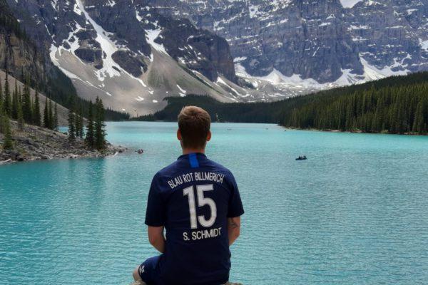 Bassi am Moraine Lake (Canada)