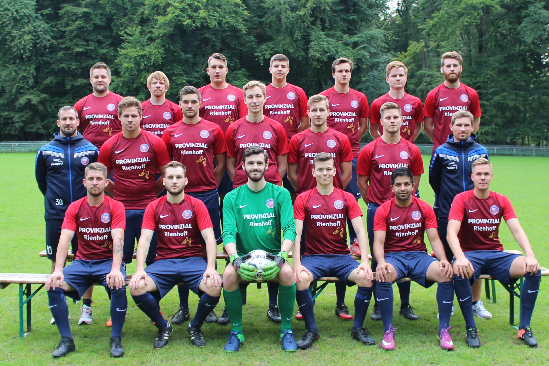 erste Mannschaft - Provinzial Rienhoff - Zuschnitt