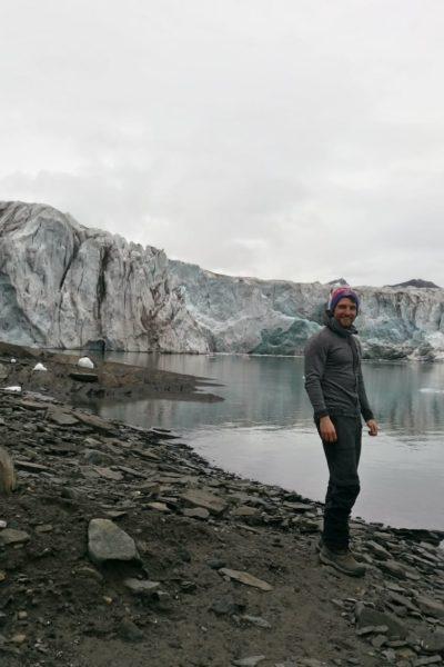 Pascal Weiß auf Spitzbergen